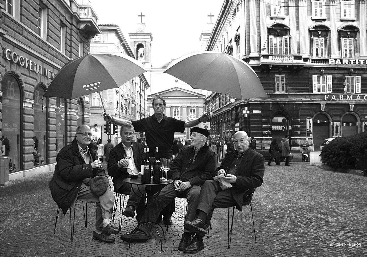 Paolo Rumiz, Octavio Prenz, Pavle Merku