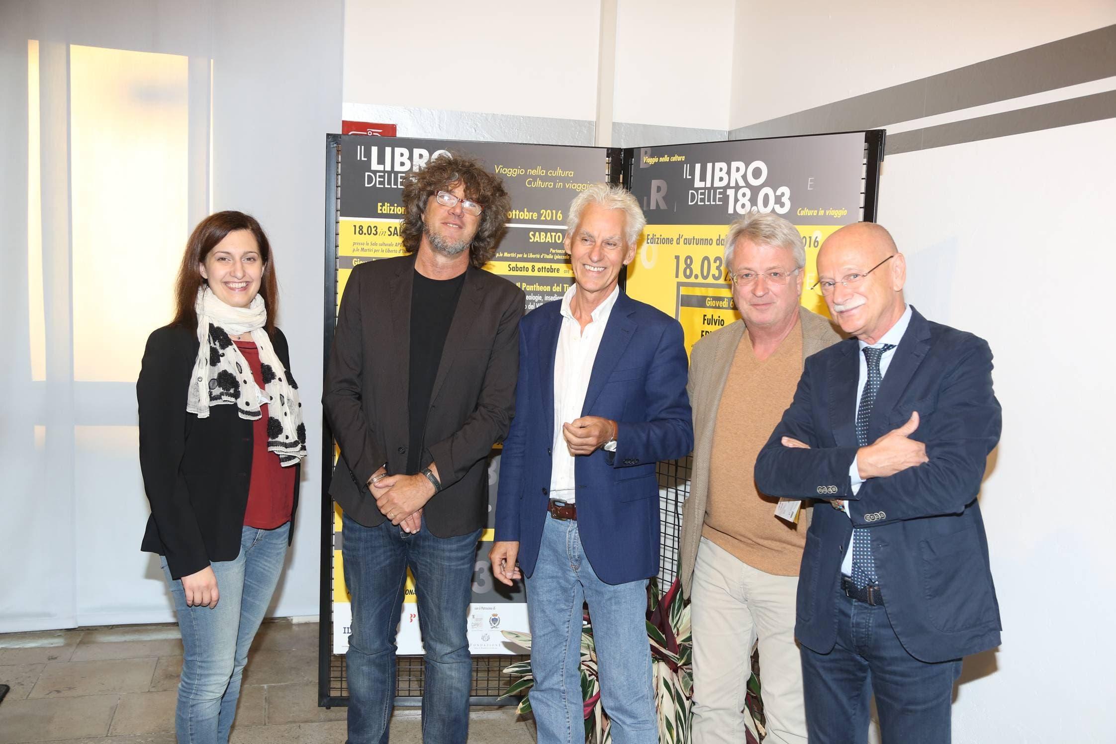 Sara Cumar, Maurizio Cataruzza, Fulvio Ervas, Paolo Polli
