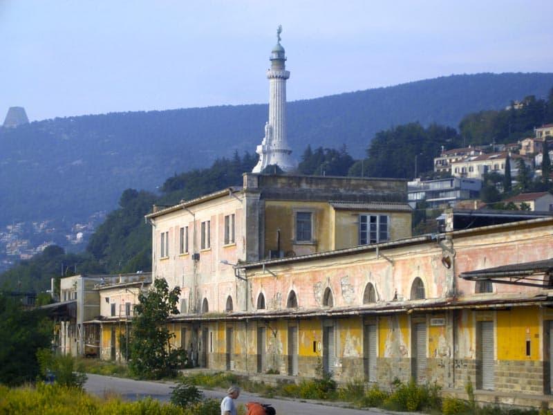 Faro della Vittoria, Triest