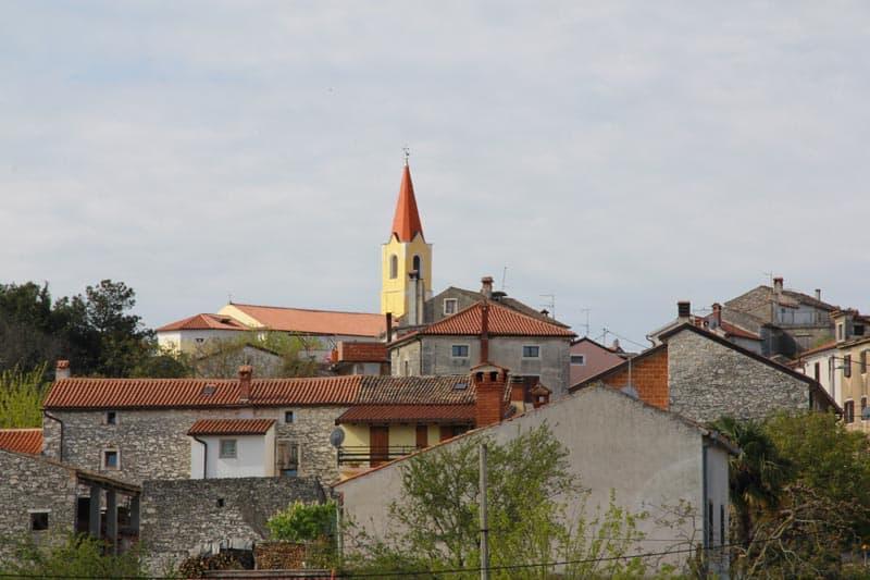 Verteneglio, Istrien
