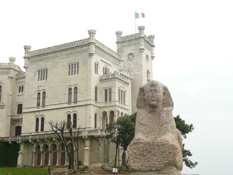 Castello di Miramare Sfinge