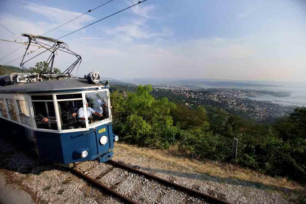Tram di Opcina, Trieste